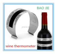 Stainless Steel Wine Metal Thermometer