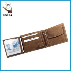 2015 trendy fashionable OEM and ODM stingray skin wallet