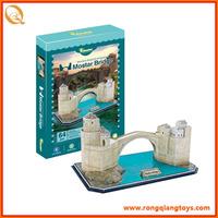 Plastic educational puzzle games for wholesales BK5695206