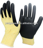 PU Palm Coated HPPE Cut Resistant Glove