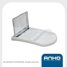 ANHO Patent Smart kitchen rack, plastic dish drying rack