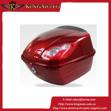 PP(CLASS A )plastic motorcycle storage box with paint cover KM-089