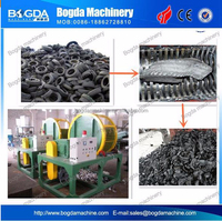 High Output Waste Plastic Used Tire Recycling Machine Made In China