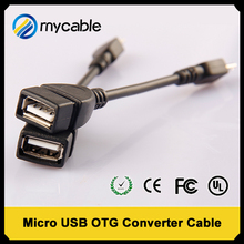 data sync micro usb otg to usb 2.0 adapter cable for android tv box