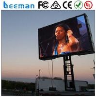 p16 outdoor video full color led display module LEEMANLED p10mm dip/smd rgb outdoor wateproof led displays