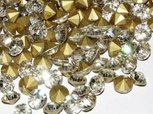 Hot Fix sharp-bottomed Crystal Rhinestones SS6.5