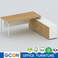 LIGHT series office supervisor desk with pedestal LT-1608C