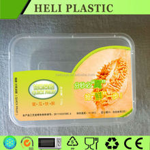 Disposable mango/papaw plastic container