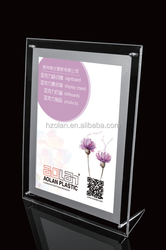 transparent acrylic LED LIGHT BOX POSTER ALLED03
