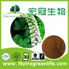 factory outlet herb extract powder Cimicifuga Romose L. Black Cohosh Polyphenol 4% Chicoric Acid 2% HPLC price negotiable
