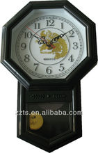 antique swing swinging wall clock