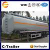 42cbm diesel tank trailer, oil trailer, fuel tanker trailer