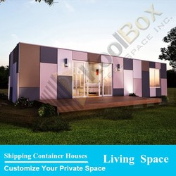 Smart prefabricated house villa design , prefabricated house australia