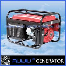 High quality exported Single-cylinder, air-cooled, 4 stroke, OHV gasoline generator price in india