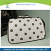 Lovoyager Eco-Friendly Brown Dot Pink Foldable Pet Carrier Like file case