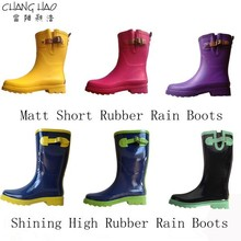 cheap environmental waterproof rubber rain boots