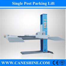 2015 Hot!CE&ISO Caneshine Hydraulic 2700kg Single Post Parking Lifter Automotive/Single Post Car Lifting Equipment Price CS-127P