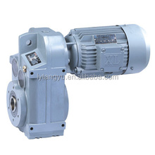 F series sew style helical parallel shafts gearbox speed variator
