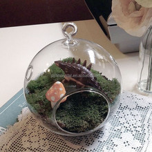 glass hanging hollow ball for decoration MH-12571