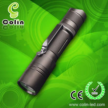 led tripod flashlight 250 lumens CREE T6 Police 1*18650 Lithium battery /2XCR123A
