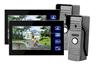 7inch home security color video door phone for apartment/memory video door phone cctv camera