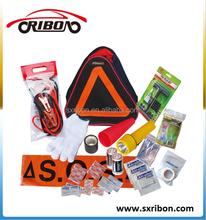 printing logo road safety kit 33pcs car emergency tool kits for promotion