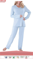 Wholesale OEM Cheap Comfy in Cashmere Lounge Set Womens Pajama for Sleepwear