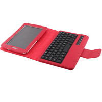 hot popular 7inch tablet pc leather case bluetooth keyboard
