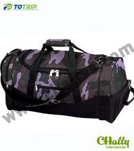 Shoes compartment duffel army bag