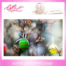 GML 2015 year now design easter eggs ornament for spring , plastic easter eggs decorations