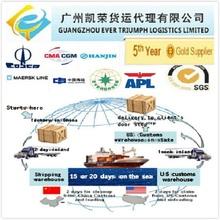 Guangzhou Shenzhen Shanghai Sea Freight Forwarder to USA (DDU Shipping)