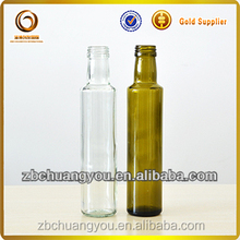 Cooking olive oil glass 250ml bottle