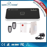 12v APP controlled smart wireless multilanguage gsm auto dial alarm system with leaving message function