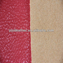 Popular pu faux leather for sofa