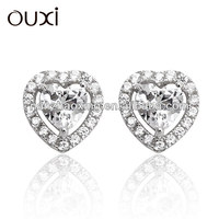 OUXI fashionable cheap .925 sterling silver made with swarovski elements Y20123