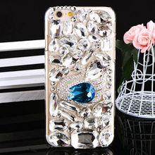 Full Crystal Rhinestone Phone Cover for iPhone 6 Diamond Case Luxury