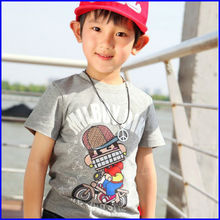 2014 The new fashion t shirt Printing kids t shirt