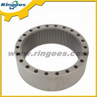 Top quality excavator parts swing gear ring / Swing reducer ring gear used for Kato HD1430
