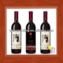 de vino personalizadas de rollo de etiquetas