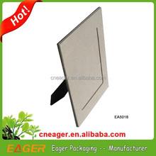 Desk and shelf display paper photo frame, photo paper frame