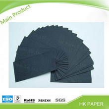 black chipboard black thickness paper board gsm to 6000gsm