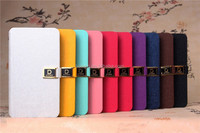 Luxury PU Leather Case For Samsung Galaxy S2 i9100 European version Flip Stand Wallet Cover with Card Holder Phone bag case