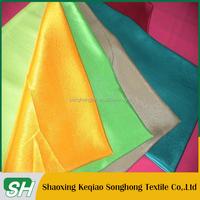 Very cheap price taffeta fabric properties/polyester taffeta fabric