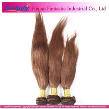 Christmas promotion wholesale can be dyedno tangle healthy ends Virgin Brazilian Hair Color 4