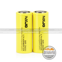 MXJO 26650 big battery mod e cigarette 4200mah 22a high drain rechargeable battery