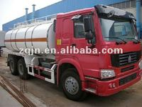 Low Price China ZZ1251M4441W fuel oil delivery trucks