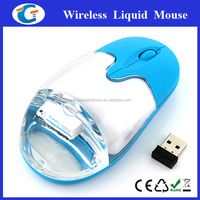 Maritime Gifts Wireless Optical PC Mouse With Water And Floater Inside