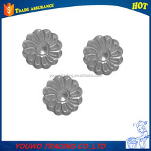 Decorative garden gate fence wrought iron art stamping flowers and leaves