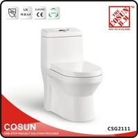 Sanitary Ware Square Ceramic Human Seats Toilet