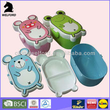pp plastic cartoon small containers for kids